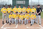 4-19-15, Huron High School freshman baseball team