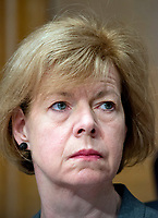 United States Senator Tammy Baldwin (Democrat of Wisconsin) at the confirmation hearing for R. Alexander Acosta, Dean of Florida International University College of Law and US President Donald J. Trump's nominee for US Secretary of Labor, before the US Senate Committee on Health, Education, Labor &amp; Pensions on Capitol Hill in Washington, DC on Wednesday, March 22, 2017.<br /> Credit: Ron Sachs / CNP /MediaPunch