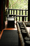 The Chicaque Eco-Lodge in the cloud forest outside Bogota, Colombia