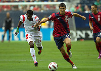 The USA defeated Panama 1-0 in the Semi-Final match of the CONCACAF 2011 Gold Cup, at Reliant Stadium, in Houston, Texas, Wednesday, June 22, 2011.