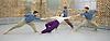 Balletboyz<br /> studio rehearsal for 'Young Men' at the BalletBoyz dance studio in Kingston, Surrey, Great Britain <br /> 16th September 2015 <br /> <br /> performed in costume :<br /> <br /> Edward Pearce<br /> Marc Galvez<br /> Bradley Waller <br /> Jennifer White <br /> <br /> <br /> Andrea Carrucciu, Simone Donati, Flavien Esmieu, Marc Galvez, Oxana Panchenko, Edward Pearce, Leon Poulton, <br /> Harry Price, Matthew Rees, Matthew Sandiford, Bradley Waller, Jennifer White<br /> <br /> &lsquo;YOUNG MEN&rsquo; <br /> Press nights:  October 6th and 7th 2015 at Sadler's Wells, London.<br /> <br /> <br /> <br /> Directors/Producers:  Michael Nunn and William Trevitt<br /> Choreography:   Iv&aacute;n P&eacute;rez<br /> Music:   Keaton Henson<br /> Lighting design: Jackie Shemesh<br /> Costumes: Carlijn Petermeijer<br /> <br /> <br /> Photograph by Elliott Franks <br /> Image licensed to Elliott Franks Photography Services