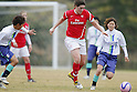 Jennifer Beattie (Arsenal), DECEMBER 2, 2011 - Football / Soccer : Frendiy Football match Arsenal Ladies FC 4-0 Musashigaoka College Ciencia at Musashigaoka College Stadium in Saitama, Japan. (Photo by Yusuke Nakanishi/AFLO SPORT) [1090]
