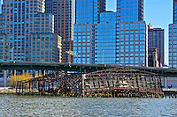 Donald Trump's Riverside South, West Side Highway, abandoned pier, Manhattan, New York City, New York, USA