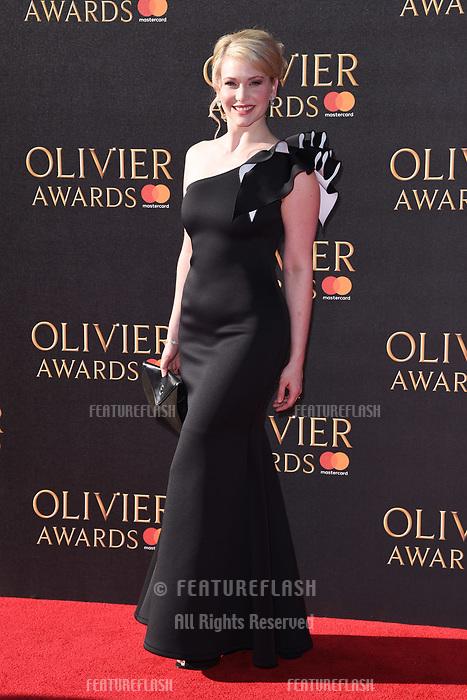 Emma Williams at The Olivier Awards 2017 at the Royal Albert Hall, London, UK. <br /> 09 April  2017<br /> Picture: Steve Vas/Featureflash/SilverHub 0208 004 5359 sales@silverhubmedia.com