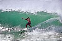 WAYNE RABBIT BARTHOLOMEW (AUS) surfing at Kirra Beach, Coolangatta , Queensland, Australia.  Circa 1990. Photo: joliphotos.com