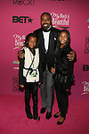 """BET's Lewis Carr and Family Attend """"BLACK GIRLS ROCK!"""" Honoring legendary singer Patti Labelle (Living Legend Award), hip-hop pioneer Queen Latifah (Rock Star Award), esteemed writer and producer Mara Brock Akil (Shot Caller Award), tennis icon and entrepreneur Venus Williams (Star Power Award celebrated by Chevy), community organizer Ameena Matthews (Community Activist Award), ground-breaking ballet dancer Misty Copeland (Young, Gifted & Black Award), and children's rights activist Marian Wright Edelman (Social Humanitarian Award) Hosted By Tracee Ellis Ross and Regina King Held at NJ PAC, NJ"""