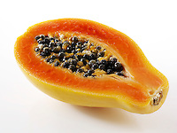 Fresh Papaya halves