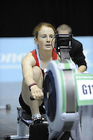 Birmingham, Great Britain, Women's Open Lwt,  .Silver Medallist,  Roxanna ISLAS GARCIA , Grupo Atp competing at the 2008 British Indoor Rowing Championships, National Indoor Arena. on  Sunday 26.10.2008 .   [Photo, Peter Spurrier/Intersport-images] ..