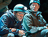 Neville's Island <br /> by Tim Firth <br /> at Duke of York's Theatre, London, Great Britain <br /> 17th October 2014 <br /> press photocall<br /> <br /> <br /> <br /> Robert Webb as Roy <br /> <br /> Adrian Edmondson as Gordon <br /> <br /> <br /> <br /> <br /> <br /> Photograph by Elliott Franks <br /> Image licensed to Elliott Franks Photography Services