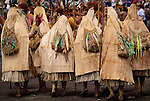Gathering of Kaimanga women, Papua New Guinea