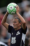 30 August 2009: Kristine Lilly (13)(BOS) of the WPS All-Stars. The WPS All-Star team defeated the visiting Umea IK 4-2 in the first annual post season All-Star game of the Women's Professional  Soccer league at Anheuser-Busch Soccer Park, in Fenton, MO.