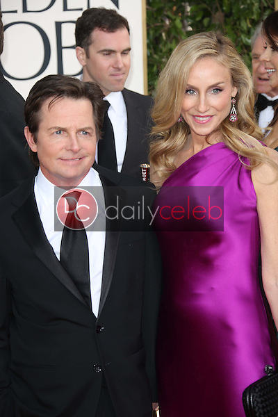 Michael J. Fox, Tracy Pollan<br />
