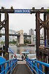 The Ferry Dock on Granville Island, Vancouver, B.C.