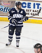 Brett Kostolansky (UNH - 15) - The Boston College Eagles and University of New Hampshire Wildcats tied 4-4 on Sunday, February 17, 2013, at Kelley Rink in Conte Forum in Chestnut Hill, Massachusetts.