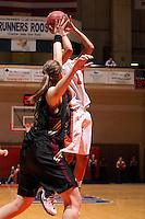 SAN ANTONIO, TX - JANUARY 20, 2007: The Texas State University Bobcats vs. The University of Texas at San Antonio Roadrunners Women's Basketball at the UTSA Convocation Center. (Photo by Jeff Huehn)