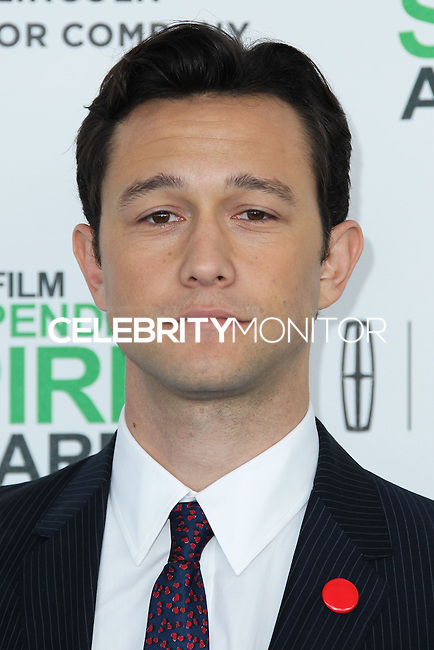 SANTA MONICA, CA, USA - MARCH 01: Joseph Gordon-Levitt at the 2014 Film Independent Spirit Awards held at Santa Monica Beach on March 1, 2014 in Santa Monica, California, United States. (Photo by Xavier Collin/Celebrity Monitor)