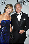 Scott Pelley and wife attends th 66th Annual Tony Awards on June 10, 2012 at The Beacon Theatre in New York City.