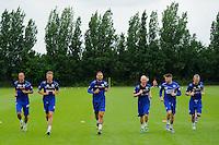 QPR team in training