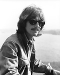 The Beatles George Harrison during Magical Mystery Tour September 1967 at Atlantic Hotel in Newquay, Cornwall....