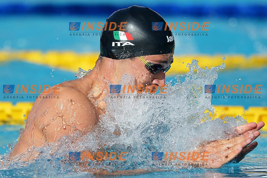 Fabio Scozzoli Italy Men's 100m Breaststroke.Roma 14/6/2012 Foro Italico.Nuoto Swimming 49mo trofeo settecolli.Foto Andrea Staccioli Insidefoto