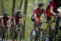 Thor Hushovd (NOR/BMC) riding his farewell race<br /> <br /> GP Impanis 2014