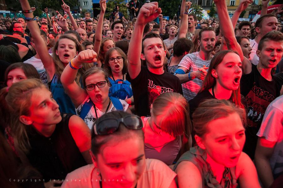 Luxtorpeda, Światowe Dni Młodzieży, Rynek Glowny, Krakow 24.07.16