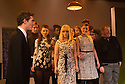 London, UK. 27.11.2012. MERRILY WE ROLL ALONG opens at the Menier Chocolate Factory. Director Maria Friedman, lighting design by David Hersey and set and costume design by Soutra Gilmour. Picture shows: Mark Umbers and the Company. Photo credit: Jane Hobson.
