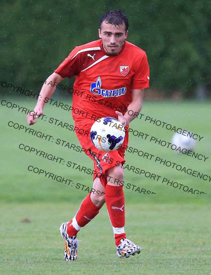 Fudbal season 2013-2014<br /> FK Crvena Zvezda pripreme<br /> Prijateljski mec<br /> Crvena Zvezda v Verzej<br /> Nenad Gavric<br /> Brezice, 07.09.2014.<br /> foto: Srdjan Stevanovic/Starsportphoto &copy;
