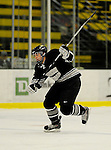 29 December 2007: Western Michigan University Broncos' forward Ryan Watson, a Freshman from Cambridge, Ontario, in action against the Quinnipiac University Bobcats at Gutterson Fieldhouse in Burlington, Vermont. The Bobcats defeated the Broncos 2-1 in the first game of the Sheraton/TD Banknorth Catamount Cup Tournament...Mandatory Photo Credit: Ed Wolfstein Photo