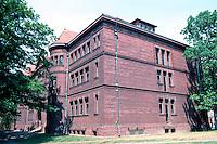 H. H. Richardson: Sever Hall, Harvard Yard. 1878.