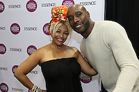 NEW ORLEANS, LA - JULY 3, 2016 Kim Fields & Morris Chestnut backstage at the Convention Center for the Essence Festival, July 3, 2016 in New Orleans, Louisiana. Photo Credit: Walik Goshorn / Media Punch