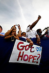 Lancaster, Pennsylvania, USA, 20080419:   The primary elections in Pennsylvania. Obama rallies in Lancaster..Photo: Orjan F. Ellingvag/ Dagens Naringsliv