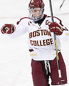 Pat Mullane (BC - 11) - The Boston College Eagles defeated the visiting Dartmouth College Big Green 6-3 (EN) on Saturday, November 24, 2012, at Kelley Rink in Conte Forum in Chestnut Hill, Massachusetts.