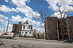 Neighborhood where Ford Foundation is funding low-income housing in the Bronx, New York, NY