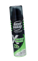 Can of Right Guard Deodorant - Feb 2013.