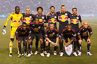 The LA Galaxy and Red Bulls of New York played to a 1-1 tie at Home Depot Center stadium in Carson, California on  May 7, 2011....