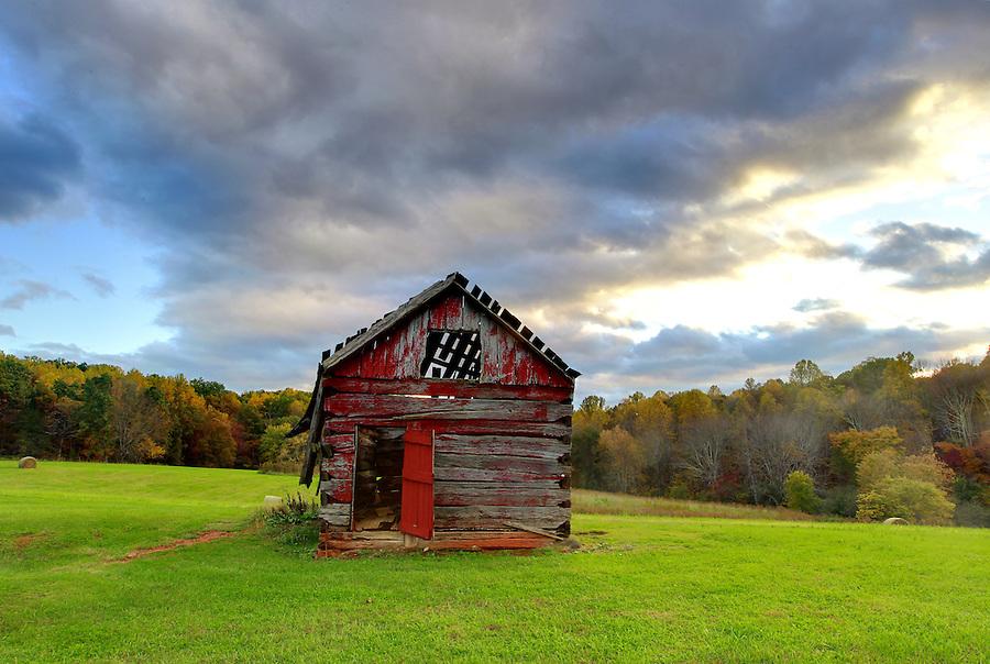 An old barn near Bundoran Farm in Albemarle County, VA. Photo/Andrew Shurtleff