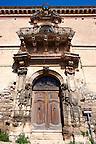 Palazzio Napolino - Napolino Palace front , Modica, Sicily