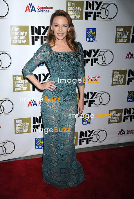"Kylie Minogue at the premiere of ""Holy Motors"", in New York City, October 11, 2012..."
