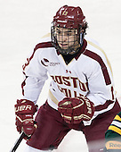 Johnny Gaudreau (BC - 13) - The Boston College Eagles defeated the University of Vermont Catamounts 4-1 on Friday, February 1, 2013, at Kelley Rink in Conte Forum in Chestnut Hill, Massachusetts.