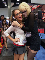 Jessica Kinni, Bennett Cousins<br /> at Anime Expo Day 1, Los Angeles Convention Center, Los Angeles, CA 07-03-14<br /> David Edwards/Dailyceleb.com 818-249-4998