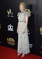 BEVERLY HILLS, CA. November 6, 2016: Actress Nicole Kidman at the 2016 Hollywood Film Awards at the Beverly Hilton Hotel.<br /> Picture: Paul Smith/Featureflash/SilverHub 0208 004 5359/ 07711 972644 Editors@silverhubmedia.com