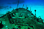 Bow, Oro Verde, Shipwreck, Grand Cayman