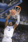 UK's Terrence Jones dunking during the University of Kentucky Men's basketball game against Auburn at Rupp Arena in Lexington, Ky., on 1/11/11. Uk won the game 78-54. Photo by Mike Weaver   Staff