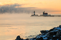 &quot;Sea Smoke at Sunrise&quot;<br />