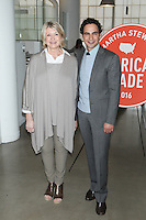 NEW YORK, NY - OCTOBER 22: Martha Stewart and Zac Posen attend Martha Stewart's American Made Summit on October 22, 2016 in New York City. Credit: Diego Corredor/Media Punch
