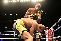 Anthony Yarde defeats Chris Hobbs during a Boxing Show at the Copper Box Arena on 20th May 2017