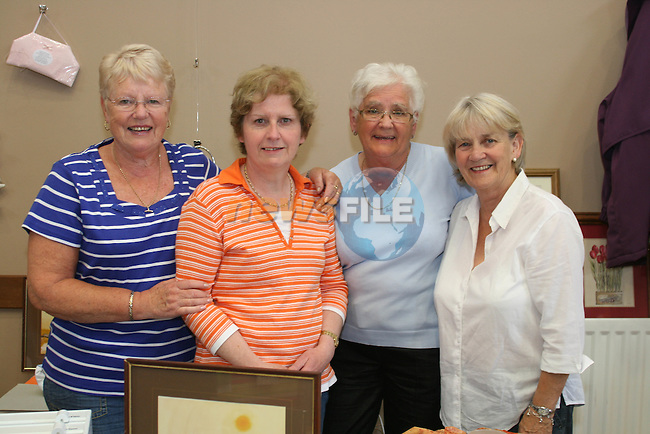 Emily White, Pat Harlin, Ann Caffrey and Betty Kelly at the St Peters Summer Fair..Photo NEWSFILE/Jenny Matthews.(Photo credit should read Jenny Matthews/NEWSFILE)....This Picture has been sent you under the condtions enclosed by:.Newsfile Ltd..The Studio,.Millmount Abbey,.Drogheda,.Co Meath..Ireland..Tel: +353(0)41-9871240.Fax: +353(0)41-9871260.GSM: +353(0)86-2500958.email: pictures@newsfile.ie.www.newsfile.ie.FTP: 193.120.102.198.