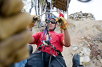Wild Canzon, zip ride, Press trip to Los Cabos Baja California. Mexico