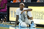 02 November 2016: North Carolina's Alyssa Okoene. The University of North Carolina Tar Heels hosted the Carson-Newman University Lady Eagles at Carmichael Arena in Chapel Hill, North Carolina in a 2016-17 NCAA Women's Basketball exhibition game. UNC won the game 96-70.